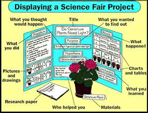 Research for science fair